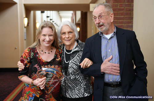 Dr. Kate Kellum (L) with her mother Dr. Gloria Kellum and father Jerry Kellum.