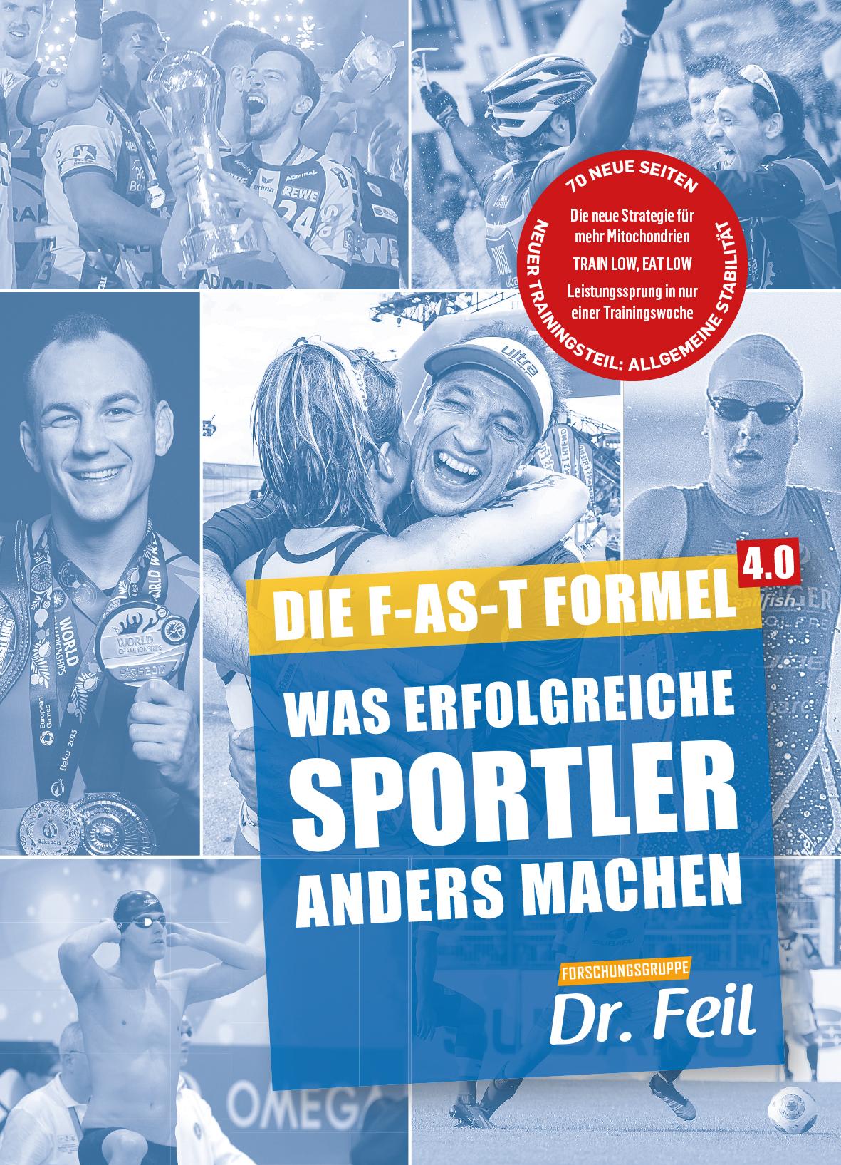 """Tobias Homburg als Buchautor! - 2018 habe ich mit Dr. Wolfgang Feil und Dr. Friederike Feil das neue Buch die """"F-AS-T Formel - Was erfolgreiche Sportler anders machen"""" geschrieben.""""In diesem Buch erfährst du, wie sich Top-Athleten ernähren, um noch besser zu werden und sich gleichzeitig vor Verletzungen zu schützen. Zusätzlich kriegst du viele einmalige Trainingstipps und sehr praxisnahe Empfehlungen, wie du dein Training mit der perfekten Ernährung kombinierst. Dieses Buch sucht seines gleichen in der Sporternährung.Fang am Besten gleich heute an, damit du noch schneller und besser wirst!In meiner Praxis kannst du das Buch natürlich jeder Zeit anschauen.Viel Spaß!""""Tobias Homburg"""
