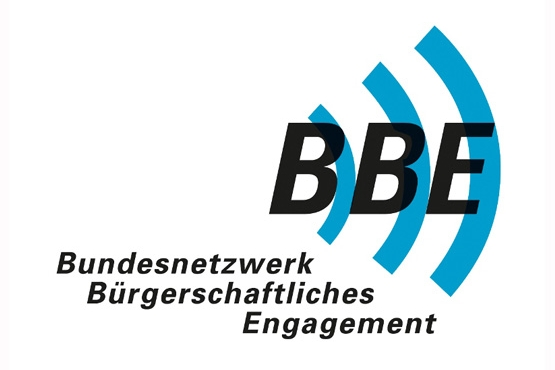 Logo des Bundesnetzwerks Bürgerschaftliches Engagement. Children for a better World ist Juniorpartner des Bundesnetzwerks Bügerschaftlichen Engagements.
