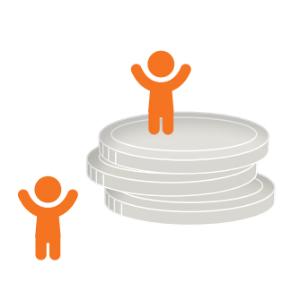 Icon symbolizing participation.