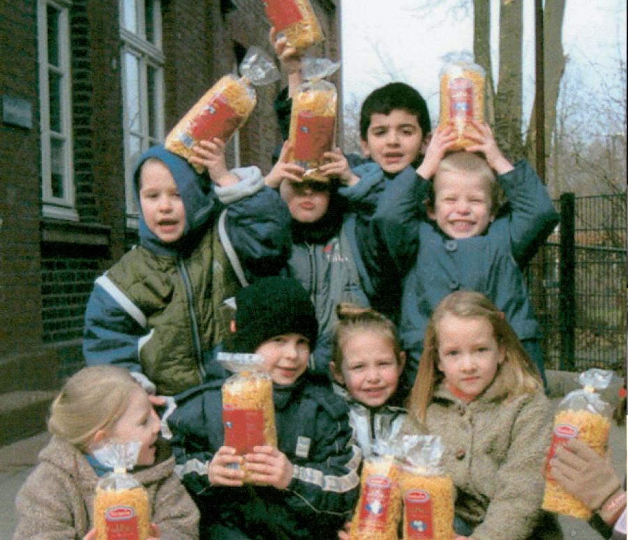 Start des CHILDREN Mittagstisches