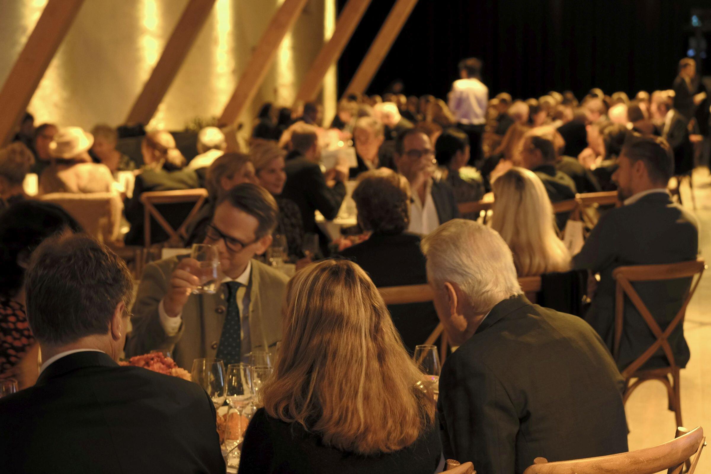 Gäste der Abendgala auf Gut Kaltenbrunn