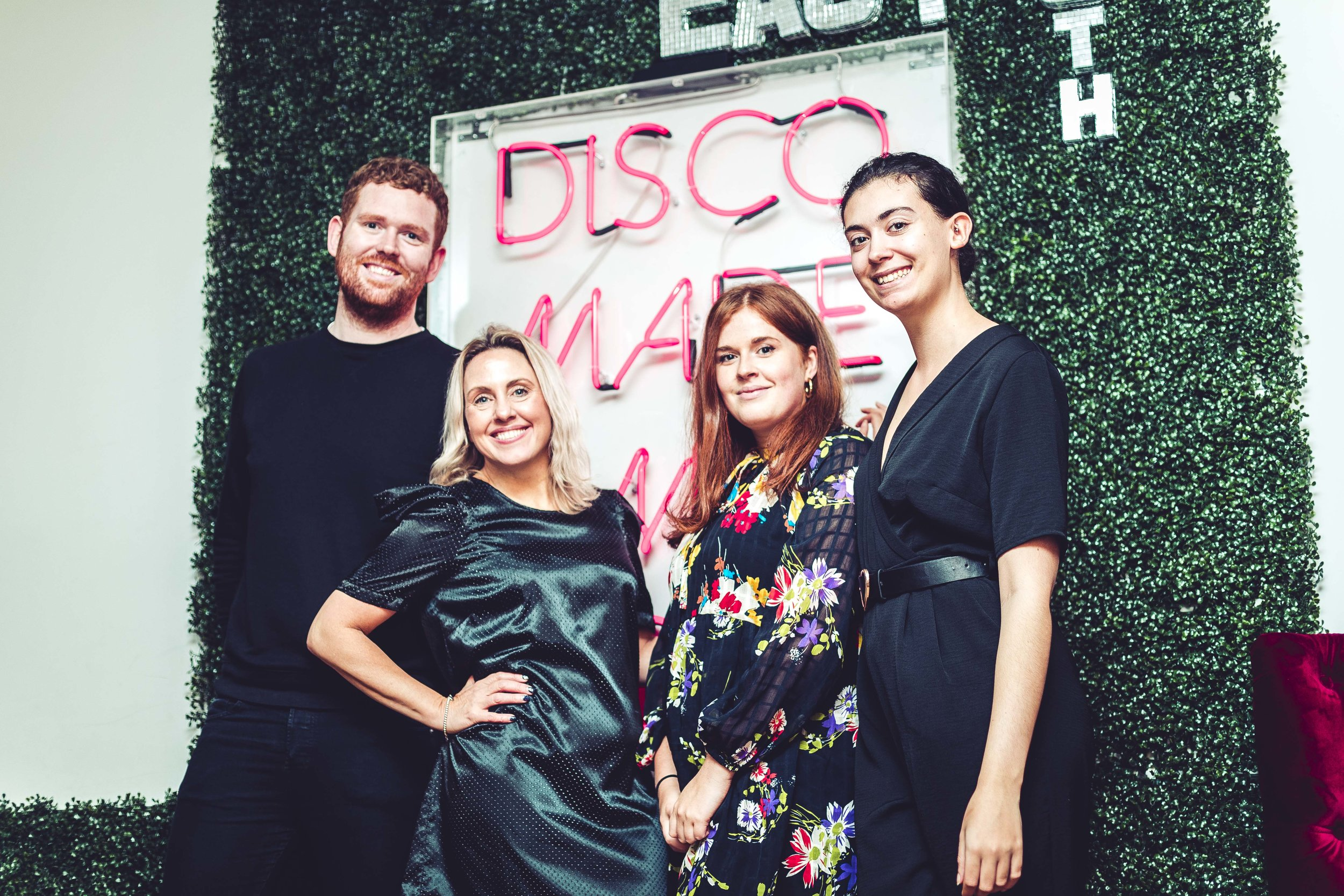 Team SLBPR at the launch of  Disco Made Me Do It  at Studio 59