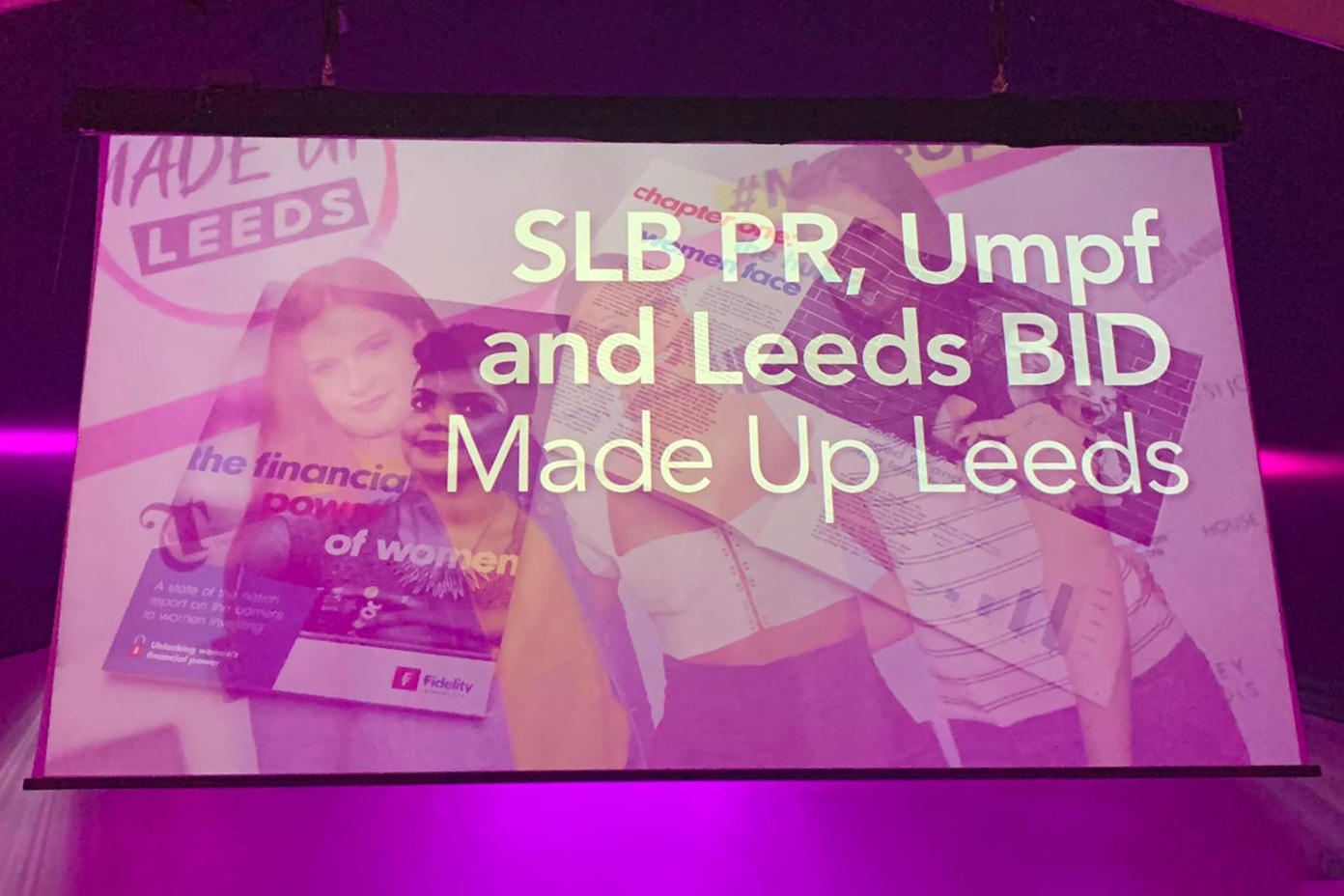 SLB PR, UMPF and Leeds Bid won the CIPR Excellence Award for Best Integrated Campaign