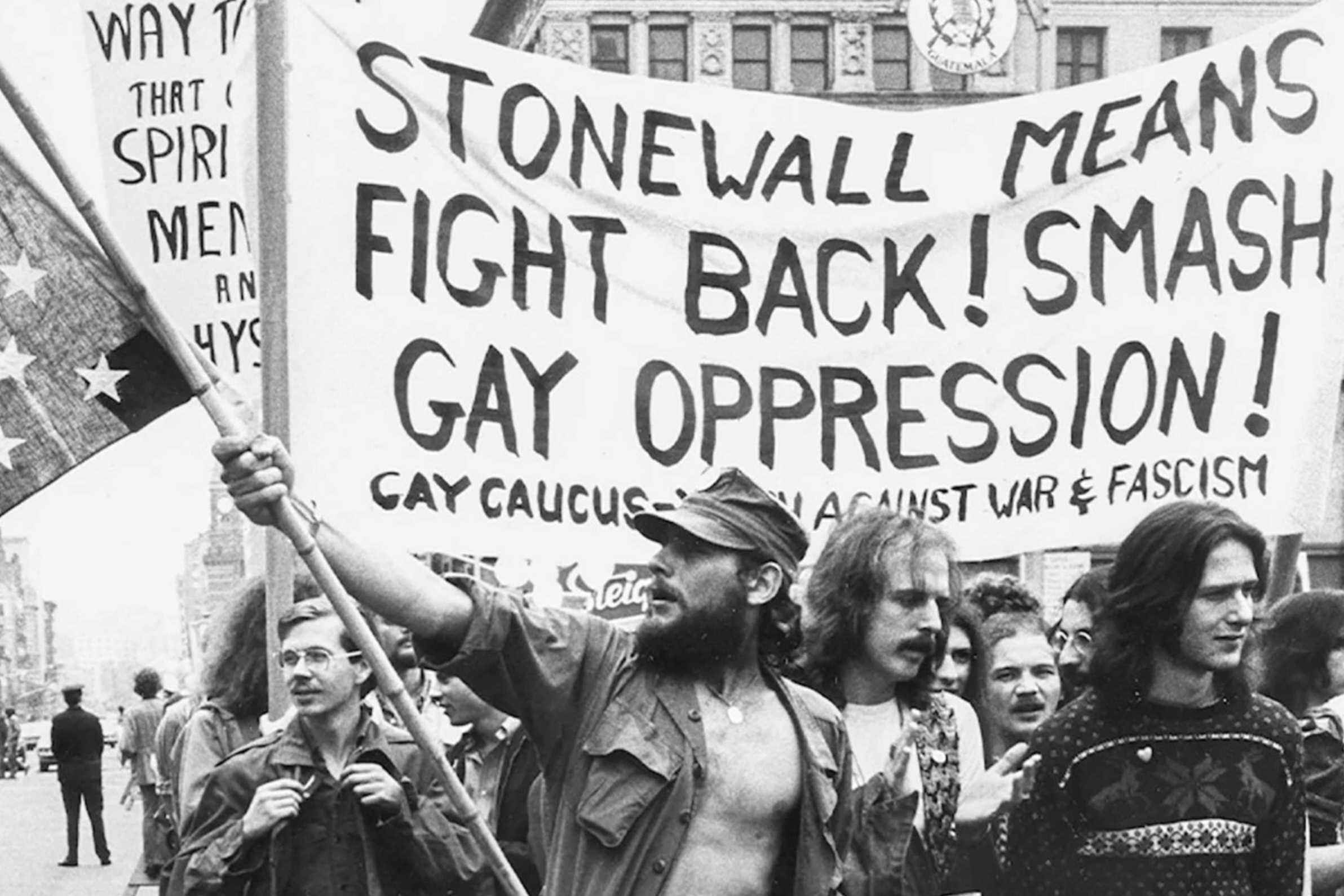 THEN: Stonewall Riots in 1969 kickstarted the first ever Pride event