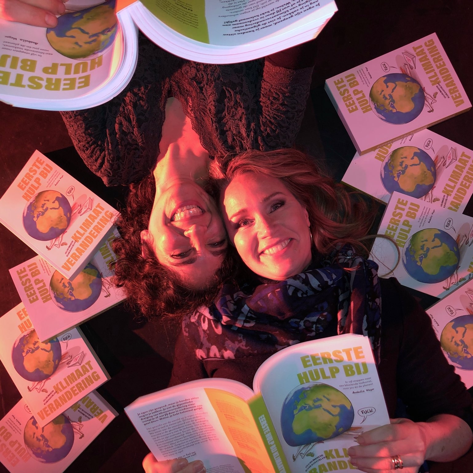 Het regent #EHBKV volgens Helga van Leur op de launchparty 30 november