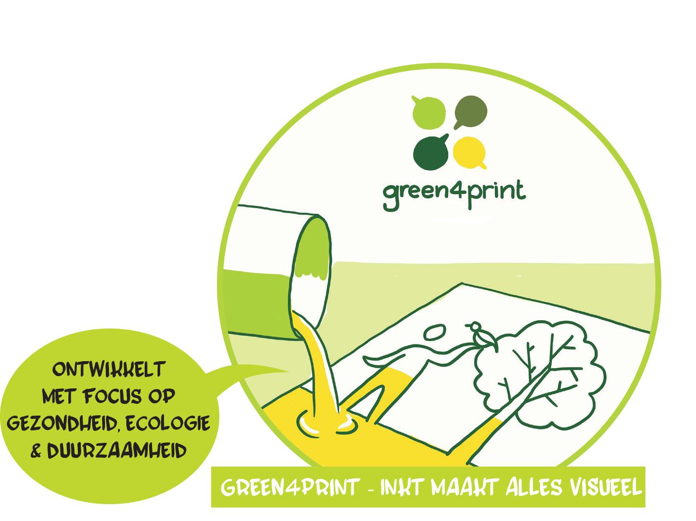 …Green4Print ging voor Eik…