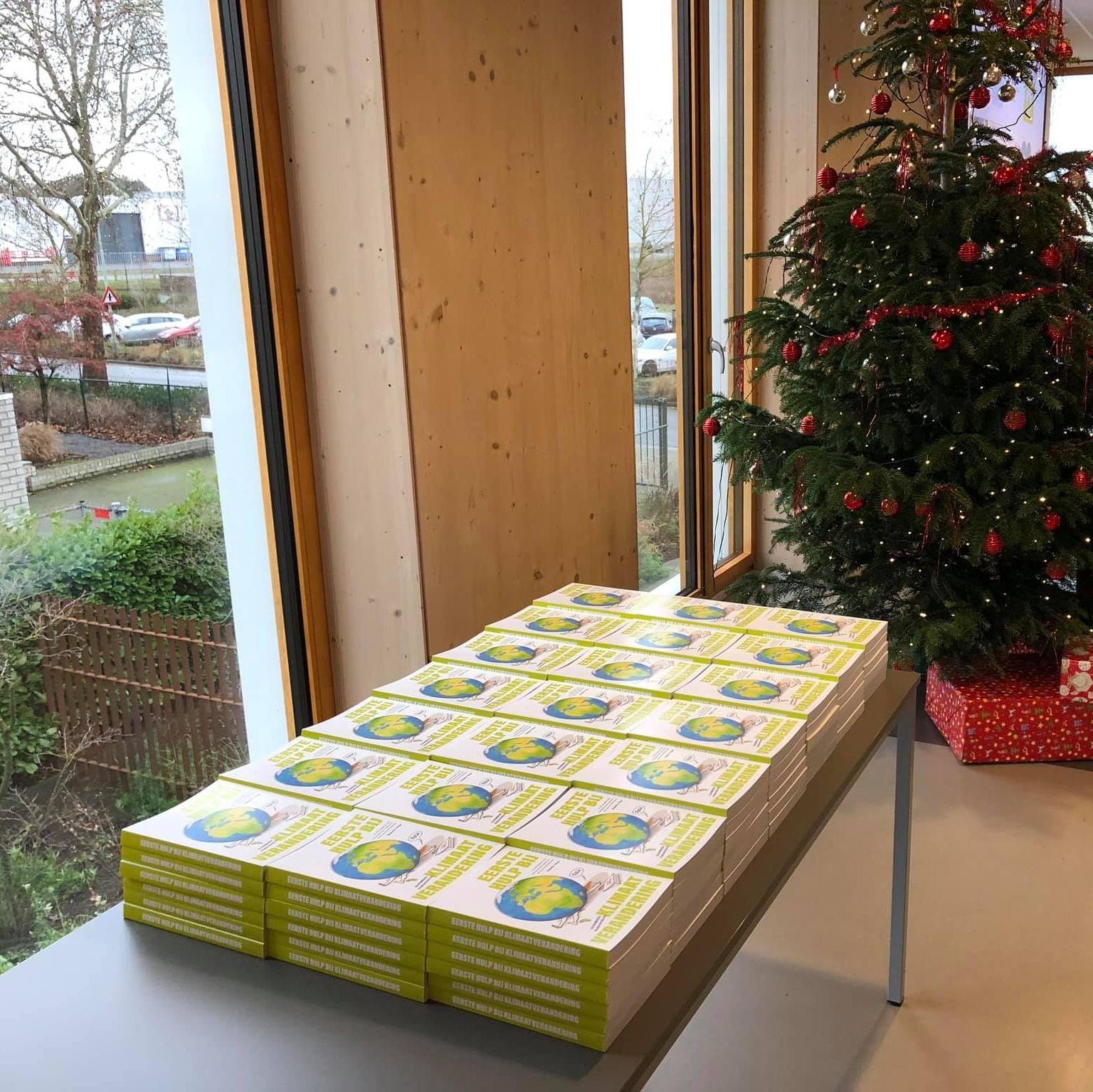 Een grote bestelling voor in het kerstpakket…