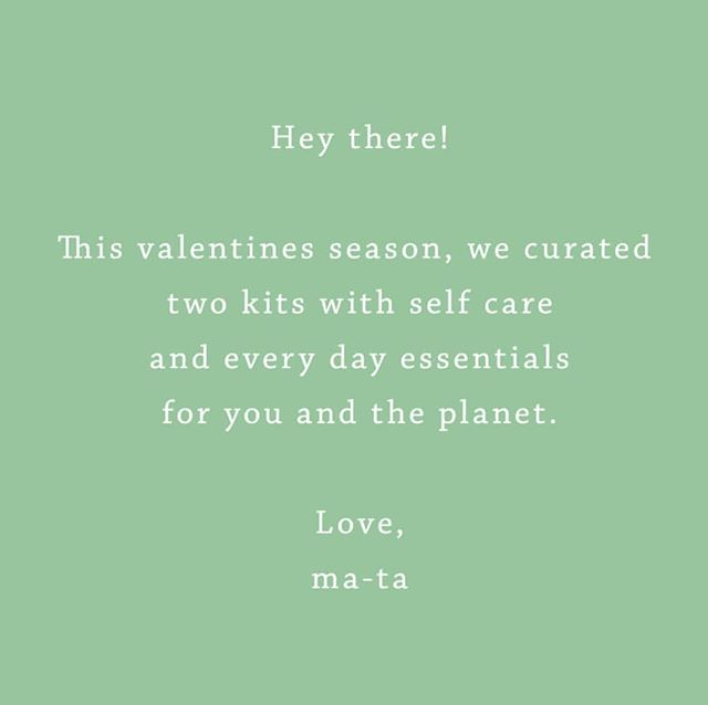 We have you and the planet in mind. Check out our stories for more info 💚