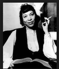 A photo of Zora Neale Hurston to pattern one's life on.
