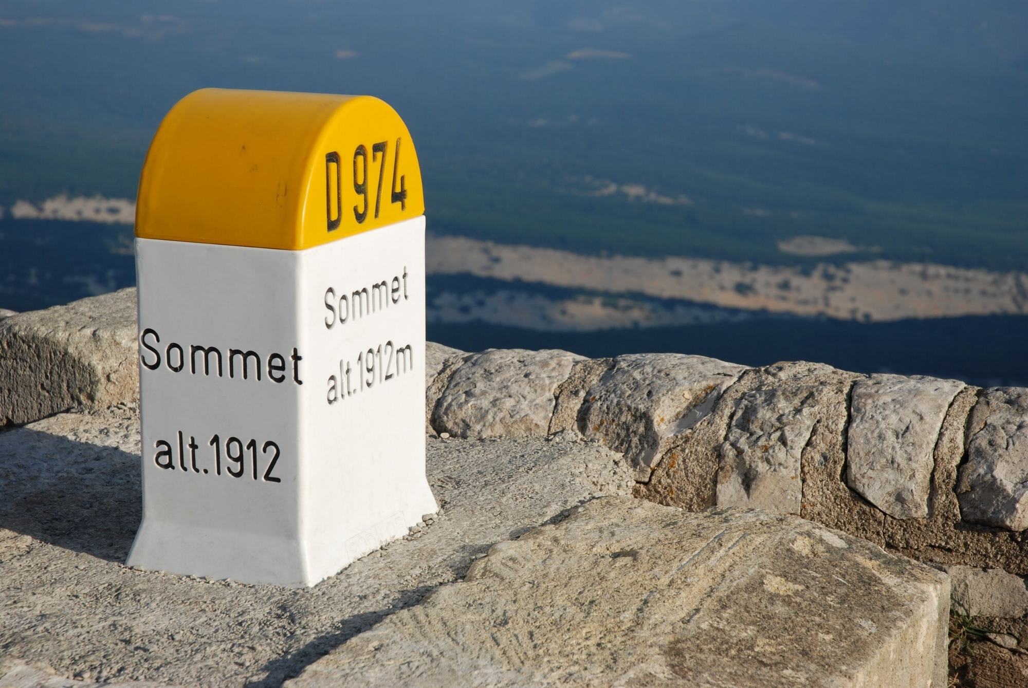 Summit of Mont Ventoux
