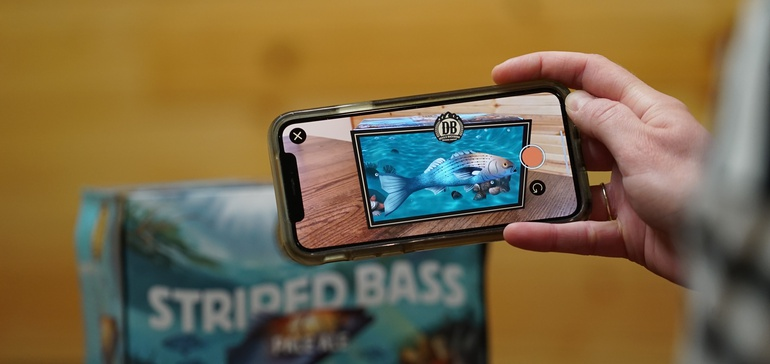Devils Backbone Augmented Reality App by Familiar Creatures