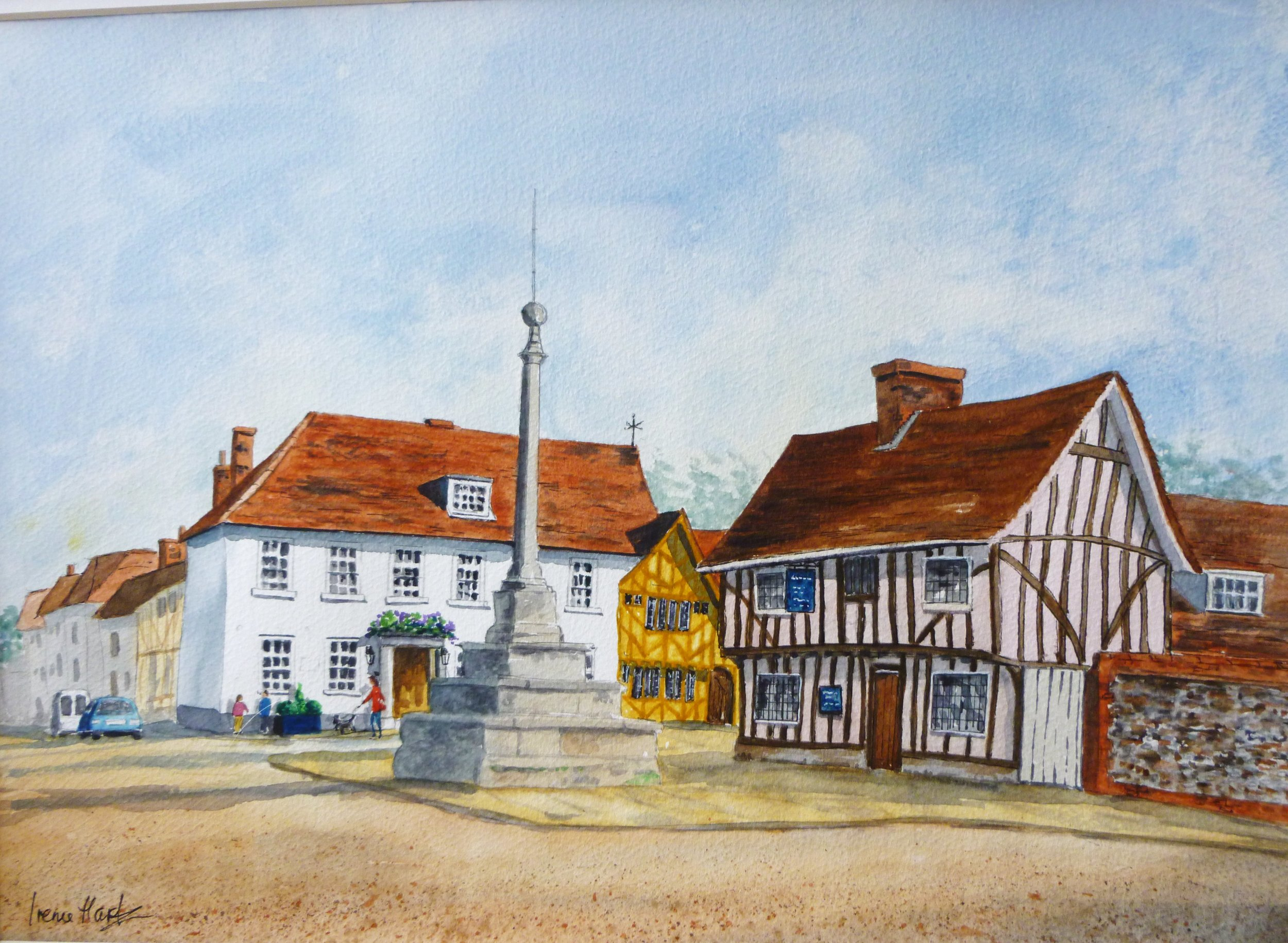 The Market Cross, Lavenham (Watercolour)