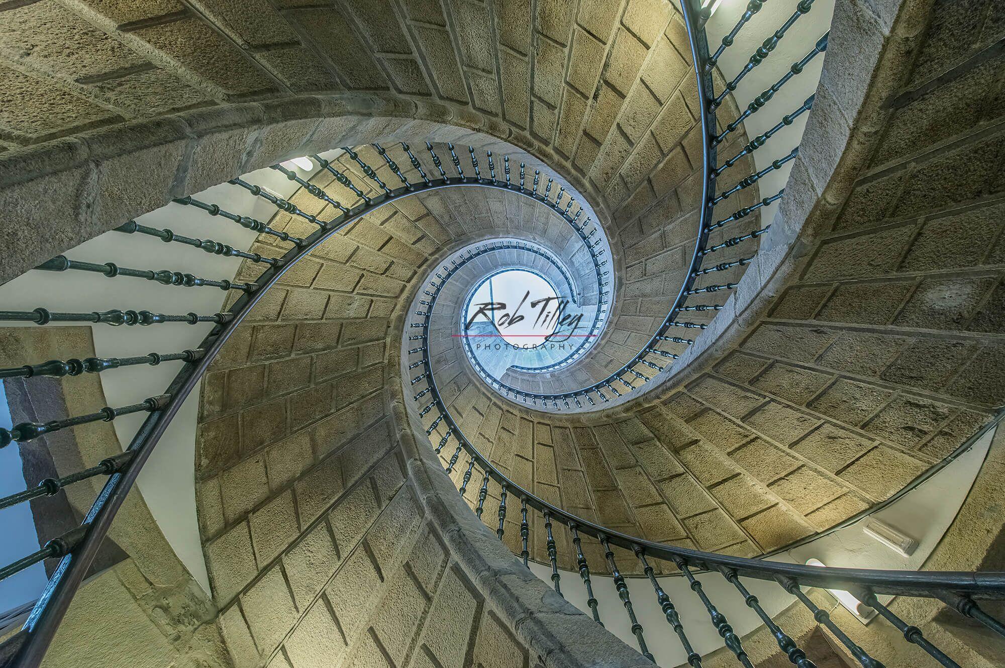 Triple Spiral Staircase