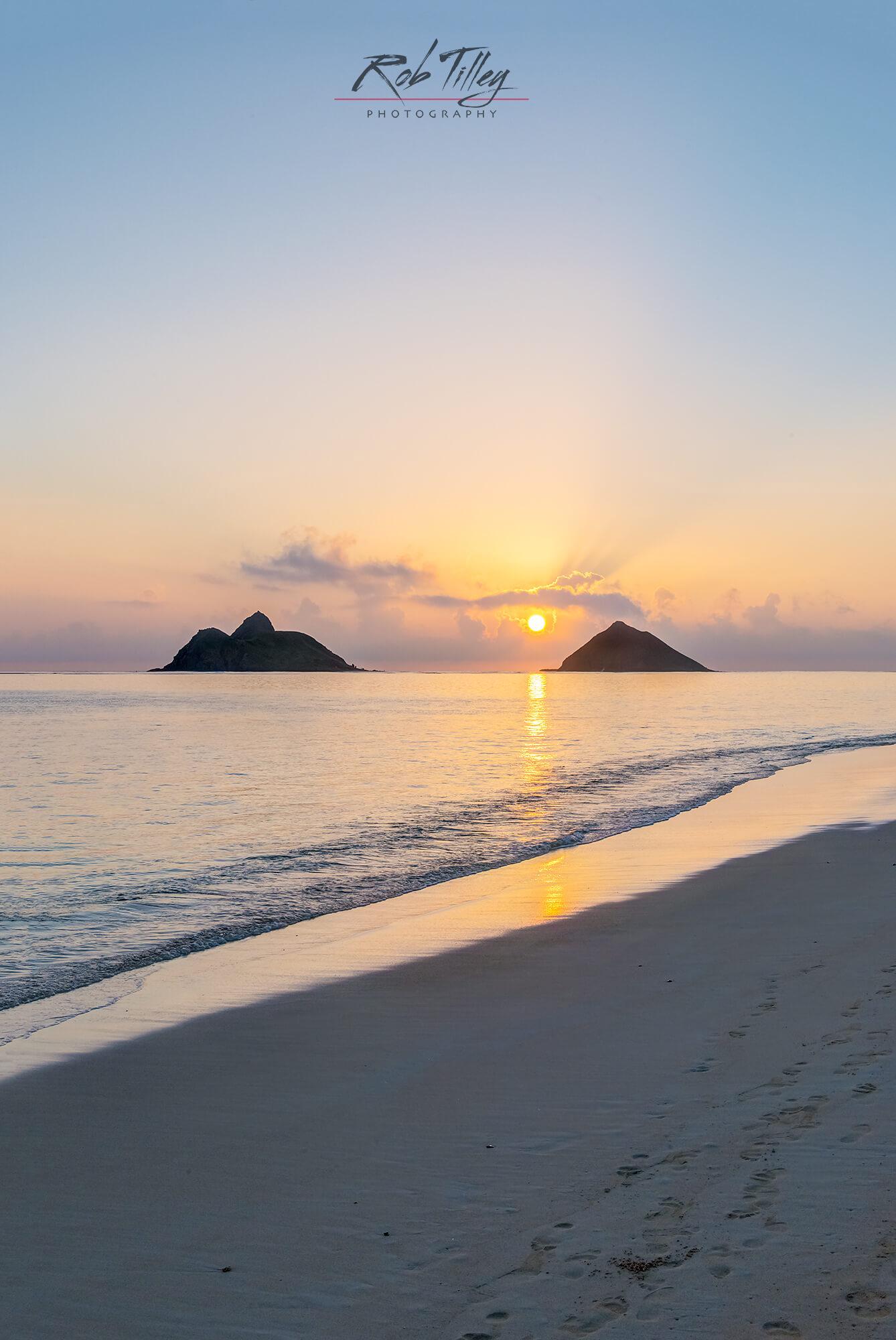 Lanikai Beach Sunrise Ii Rob Tilley Photography