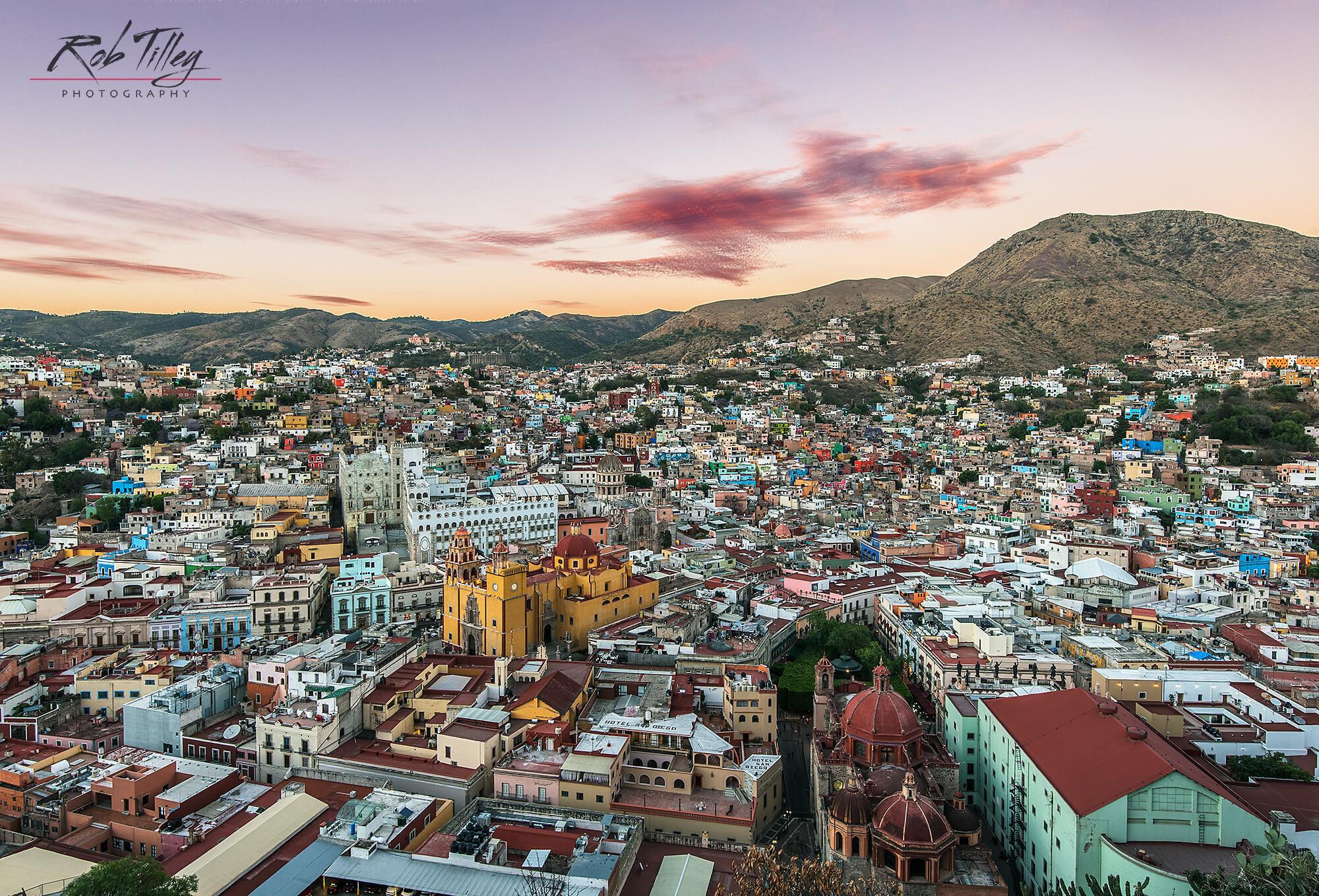 Guanajuato Sunset