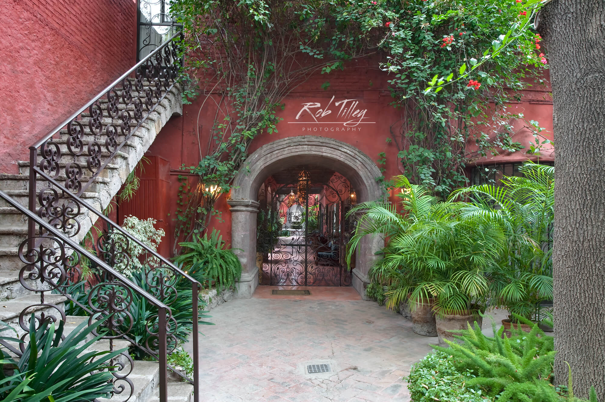 Red Courtyard