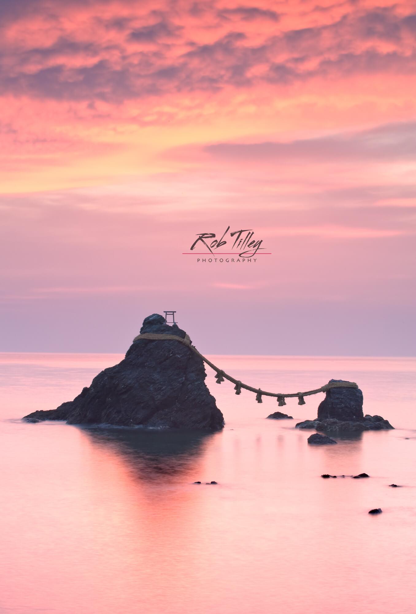 Wedding Rocks Dawn