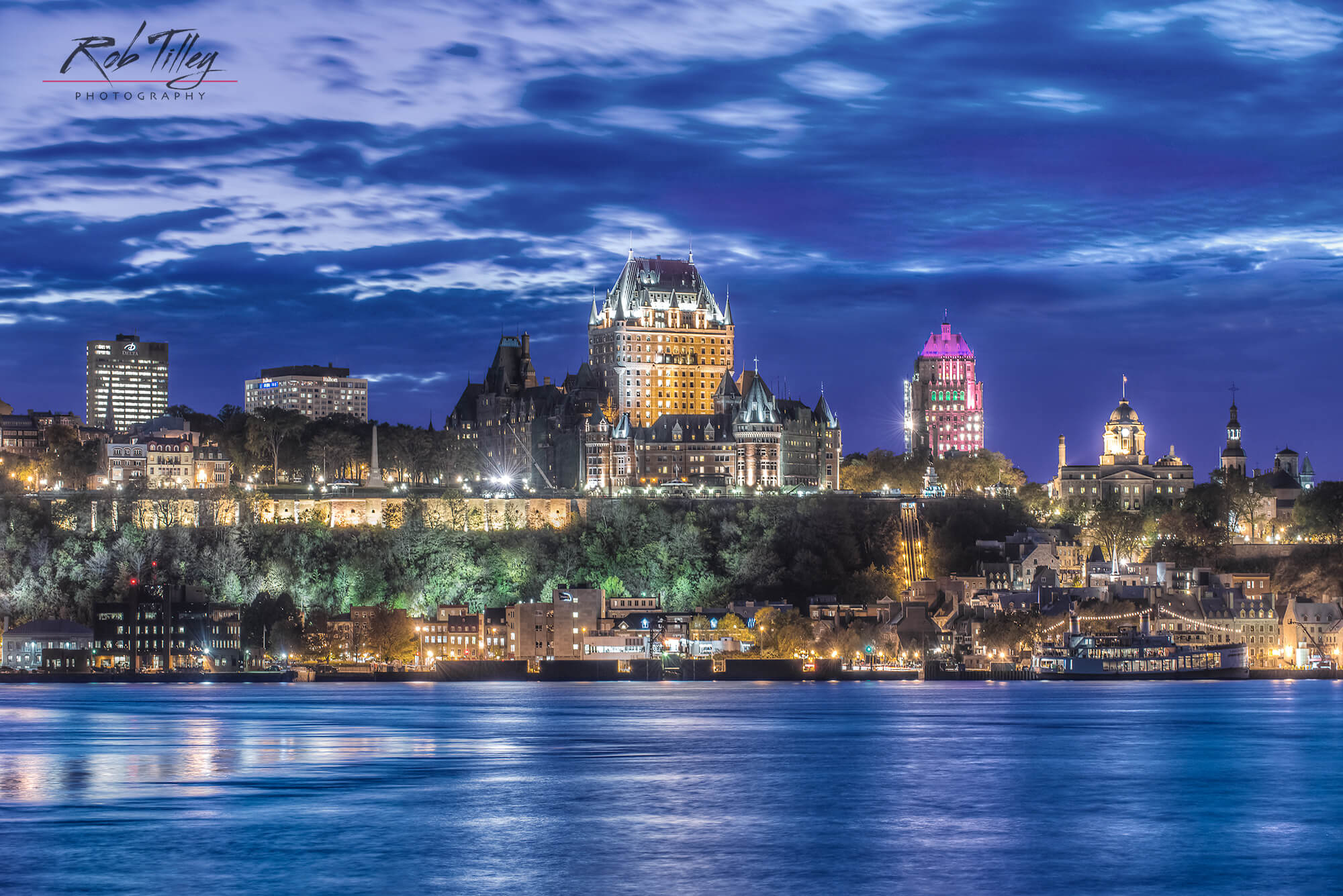 Twilight Quebec City