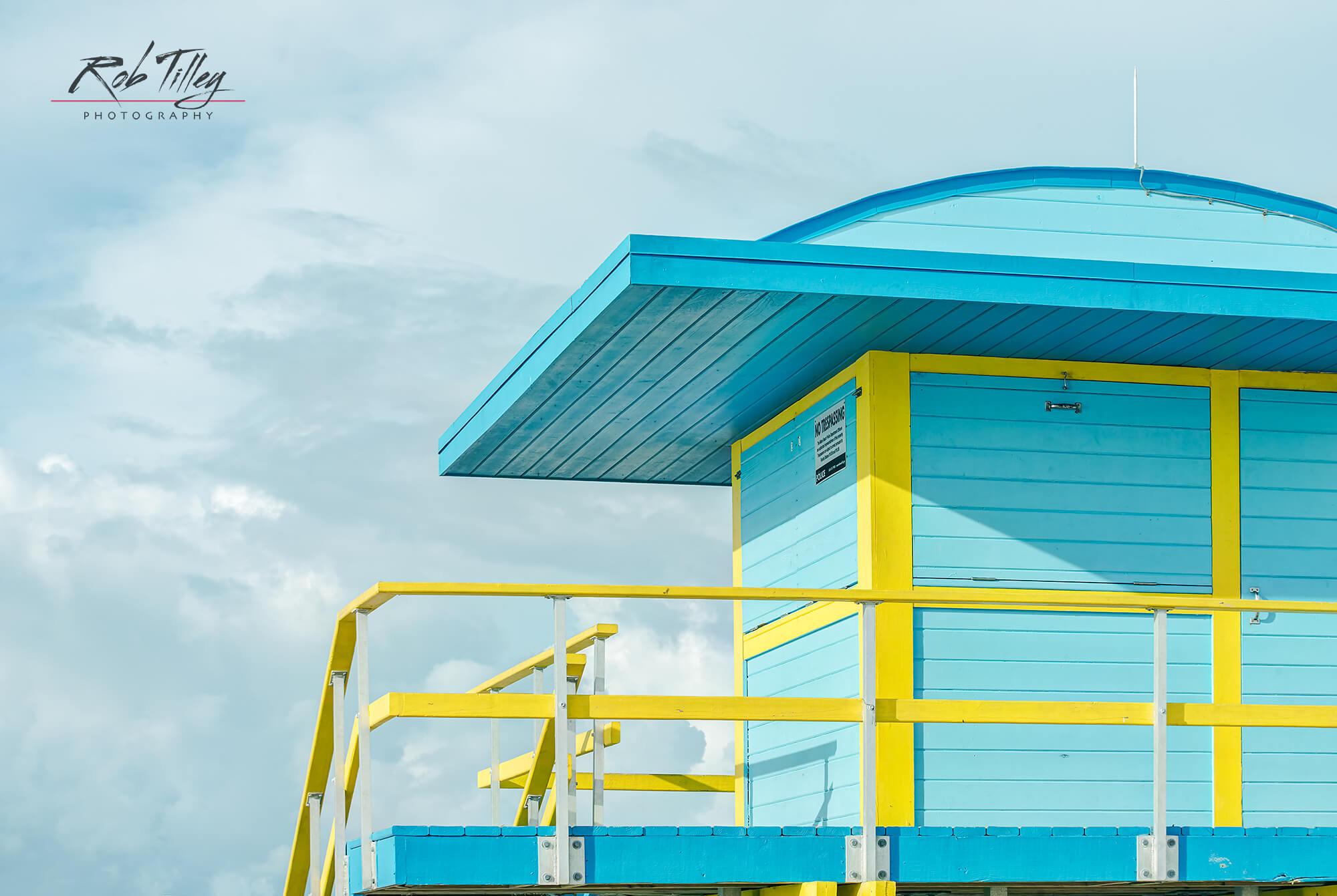 Lifeguard Hut Detail