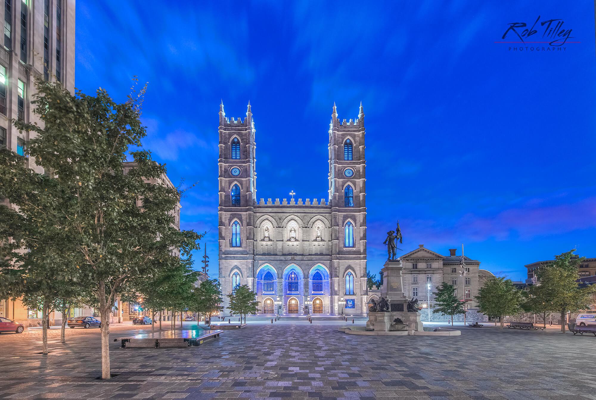 Notre Dame Basilica Dawn