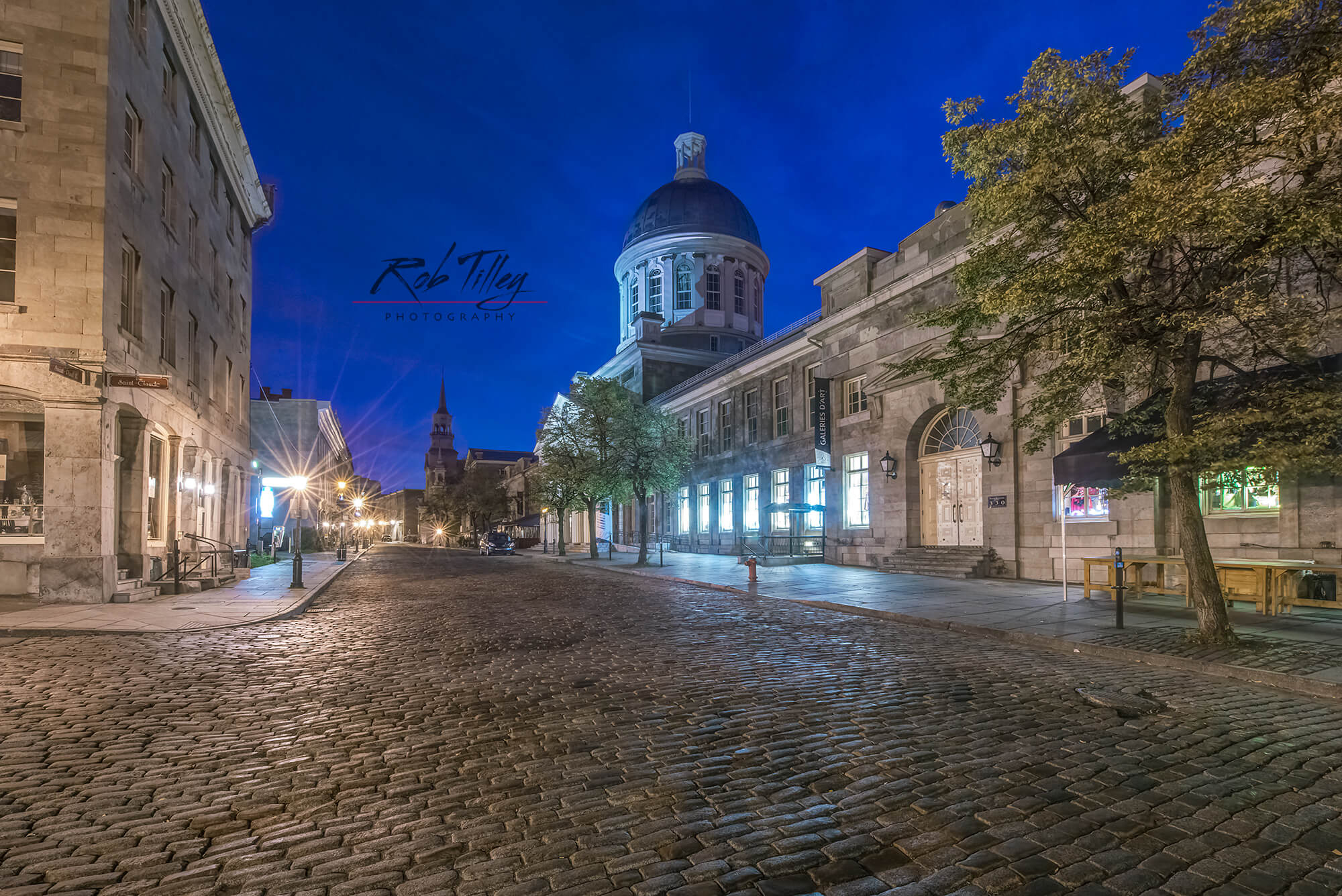 Old Montreal Dawn I