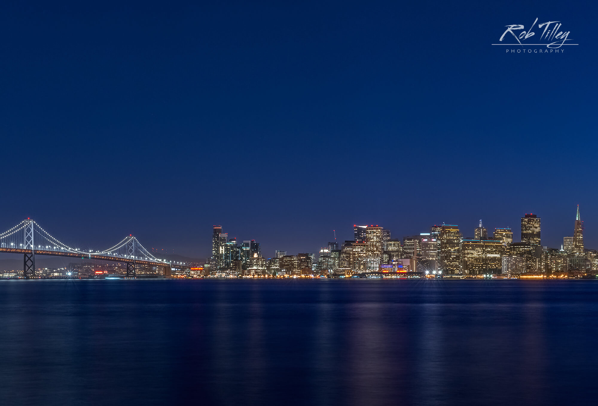 Twilight City by the Bay
