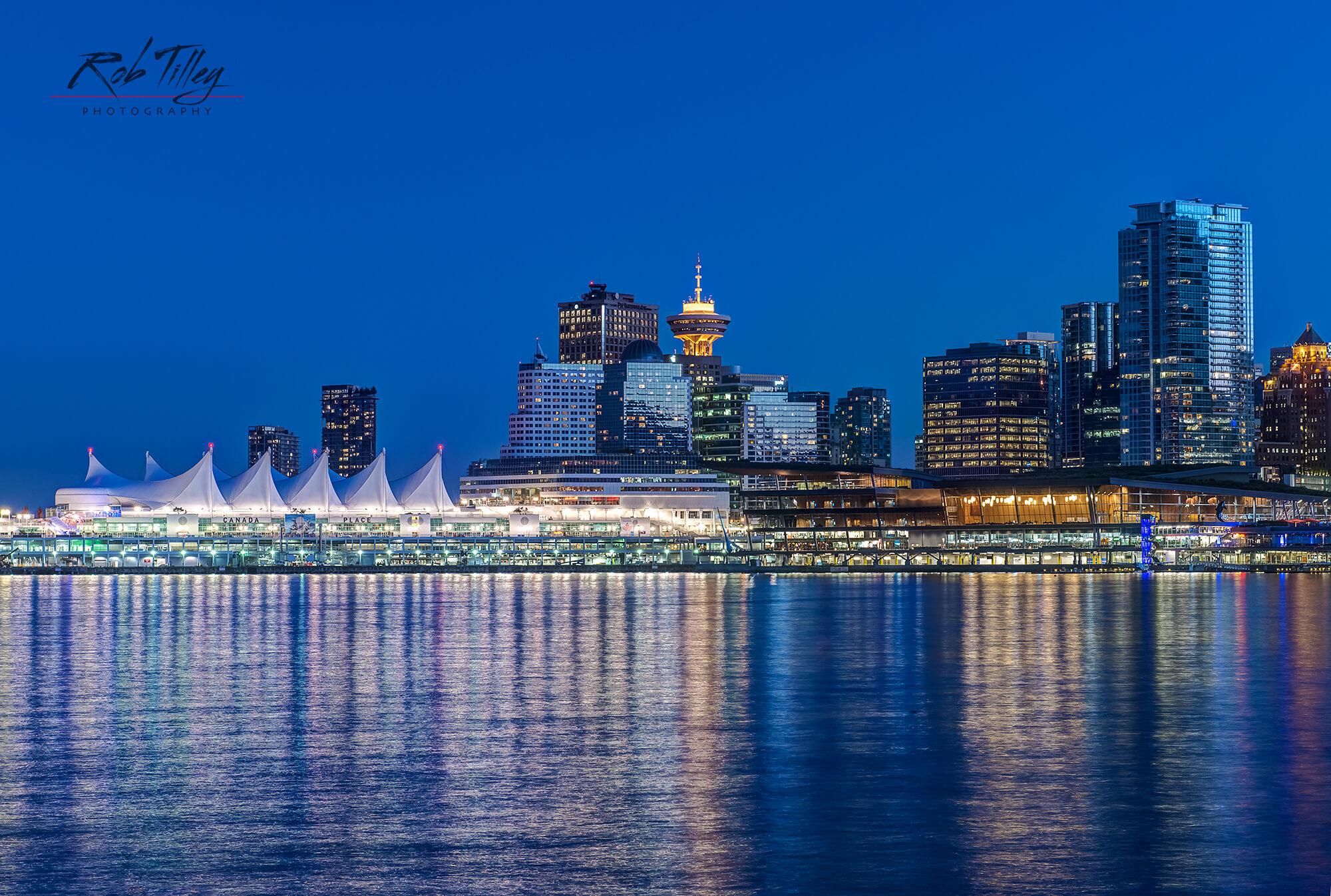 Twilight Vancouver