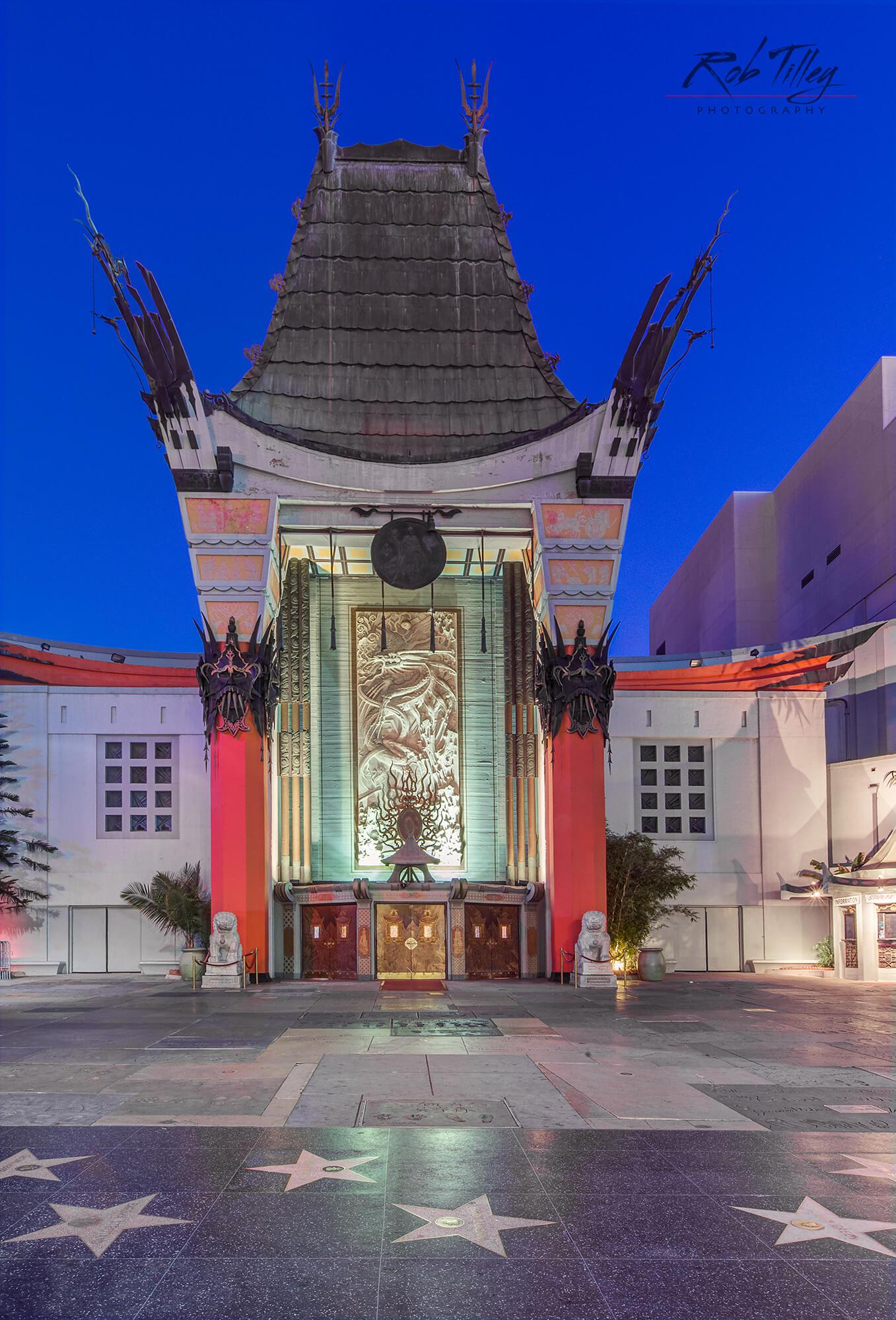 Grauman's Chinese Theater Dawn II