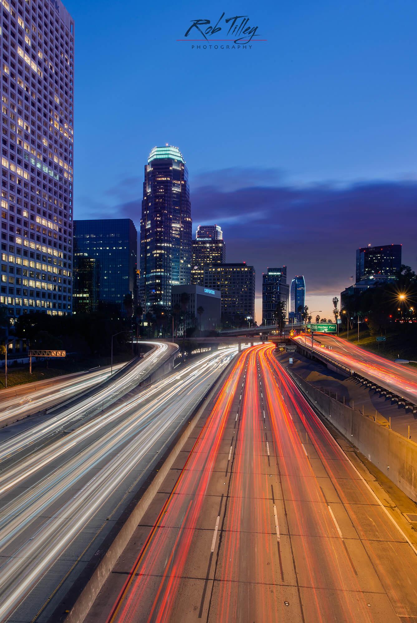 LA Freeway Sunset II