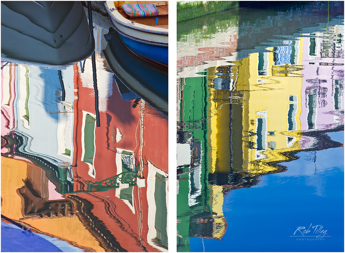 Canal Reflections Diptych
