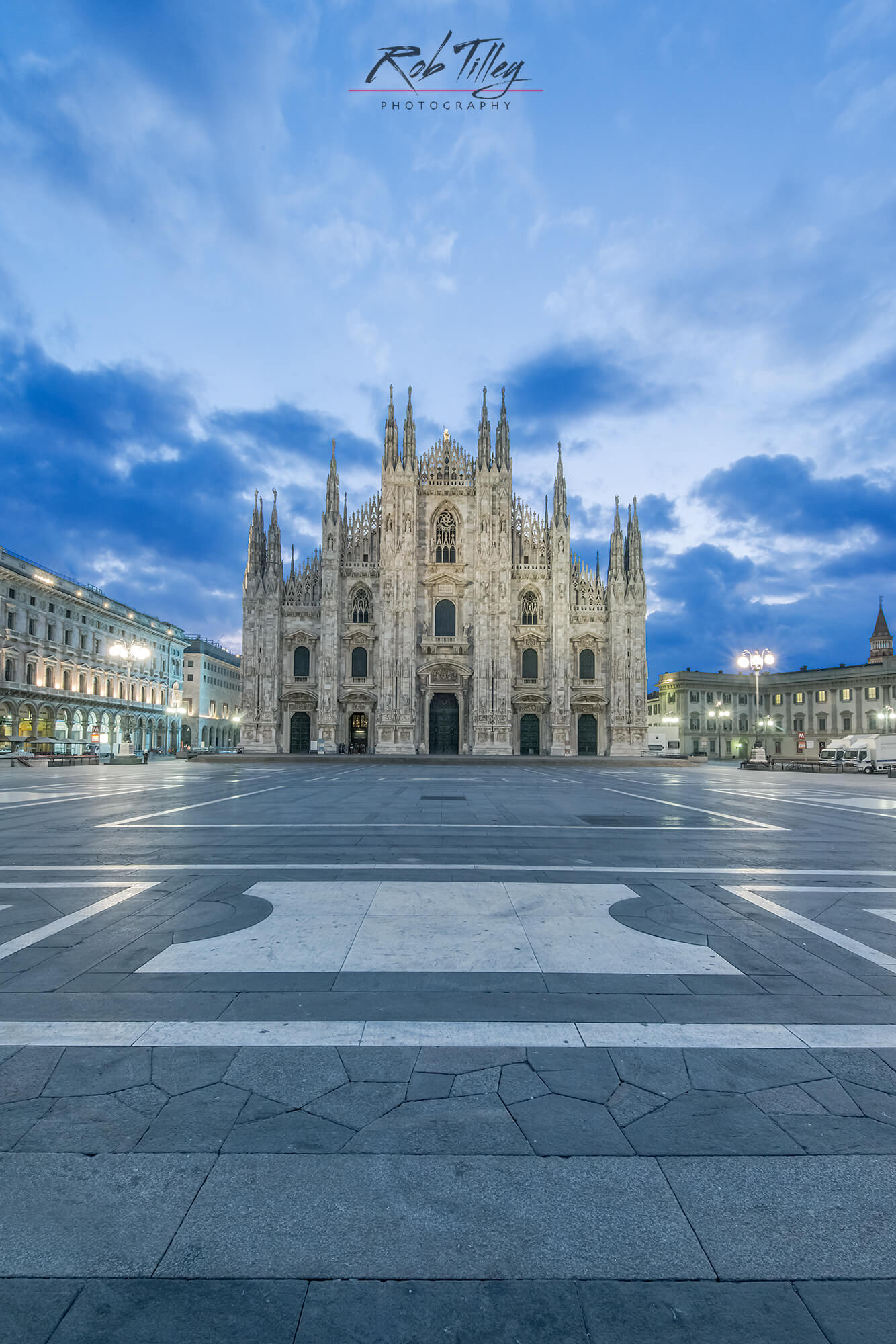 Milan Cathedral Dawn II