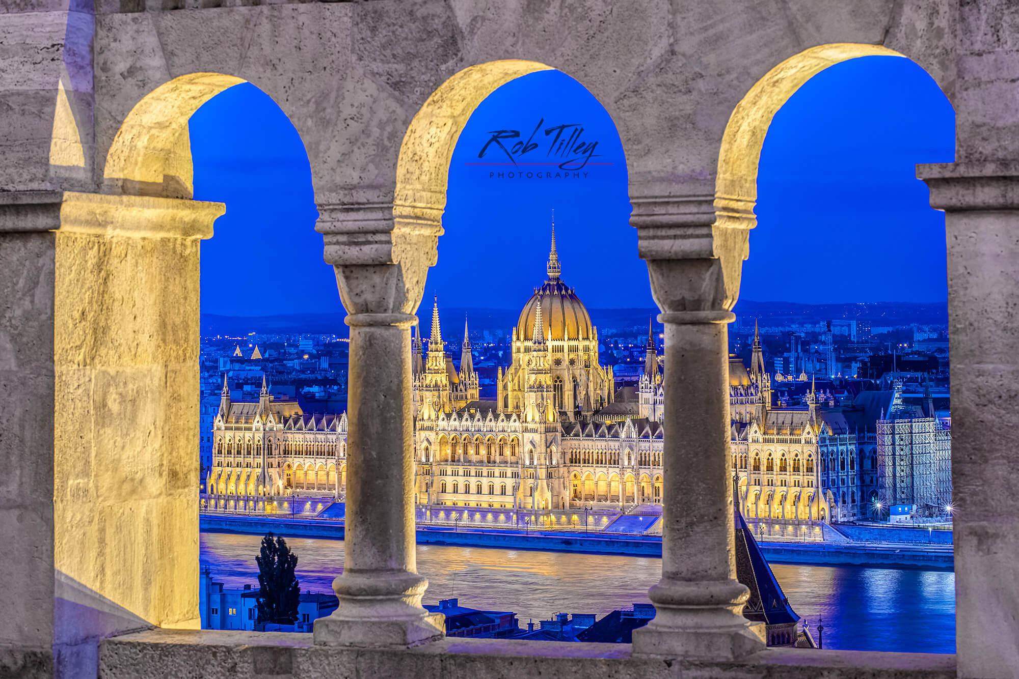 Parliament Through the Arches I