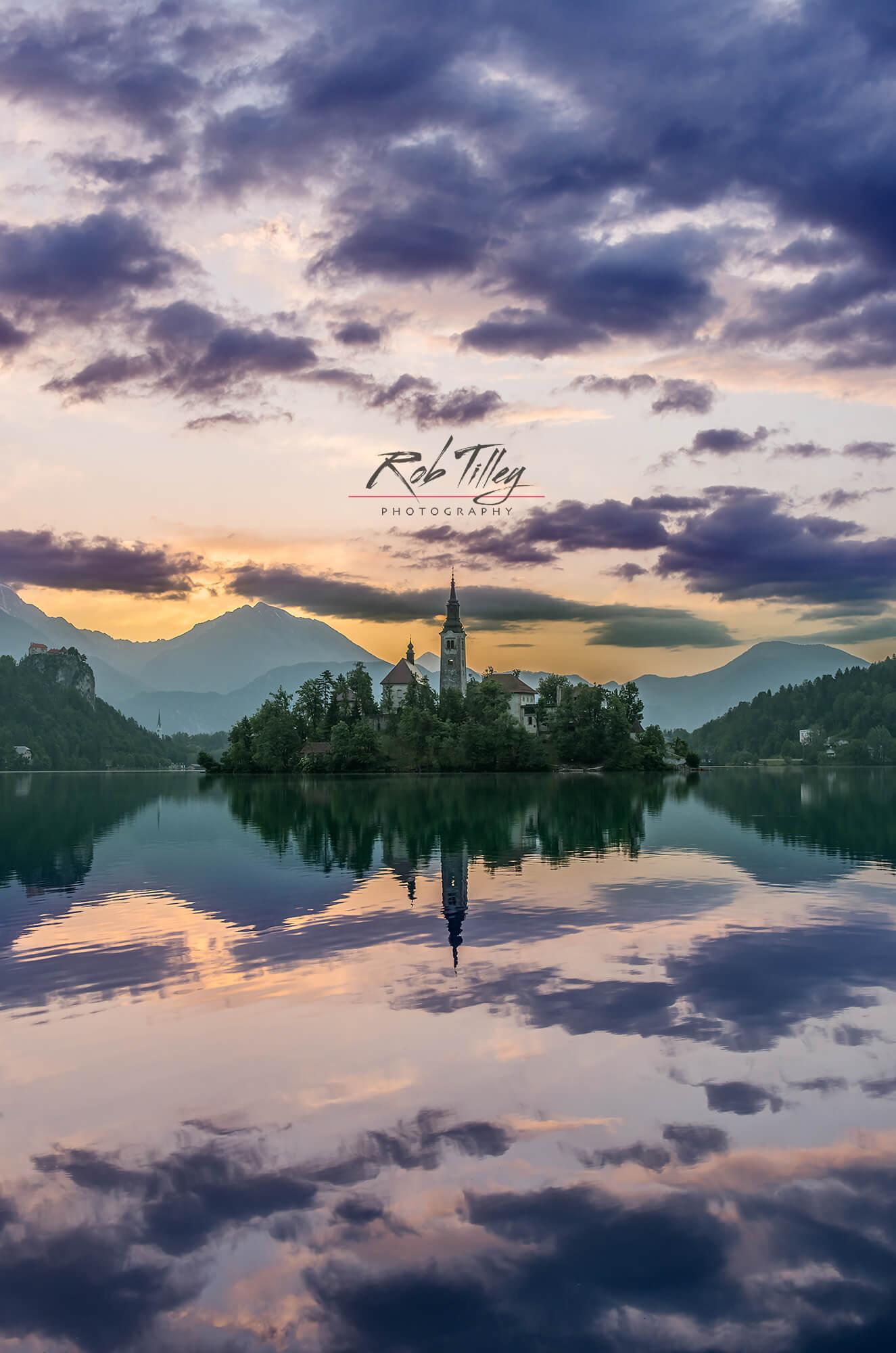Lake Bled Dawn II