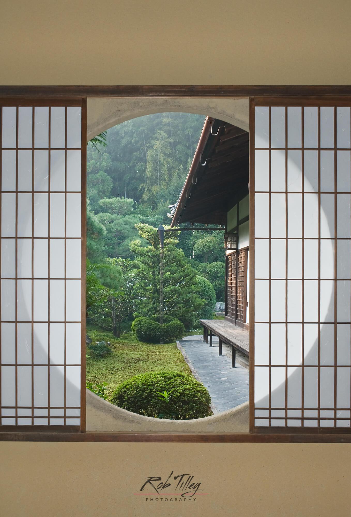 Tea House Window