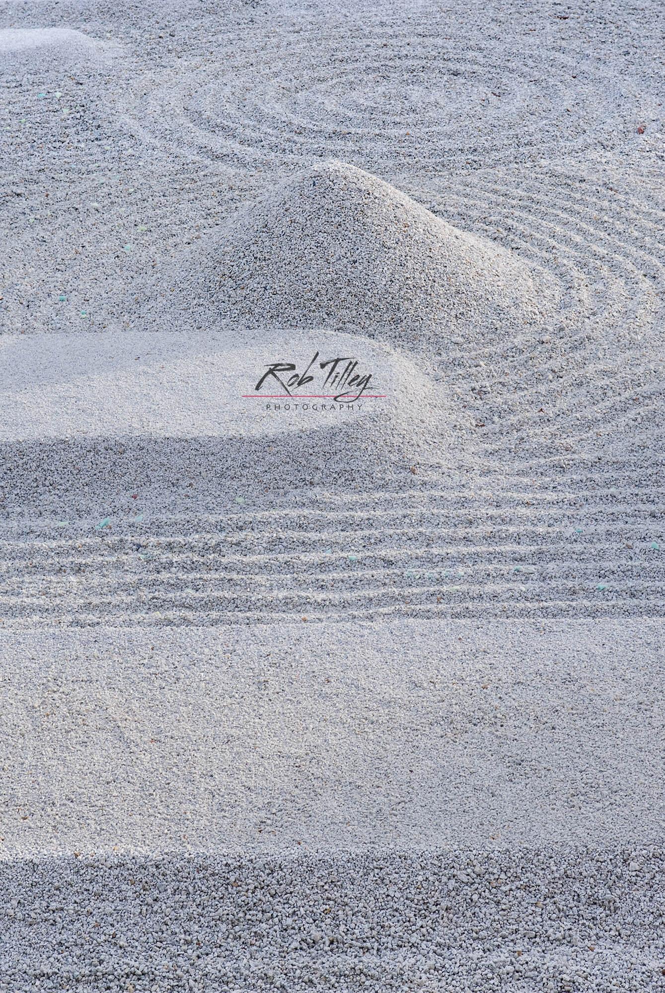 Raked Sand II