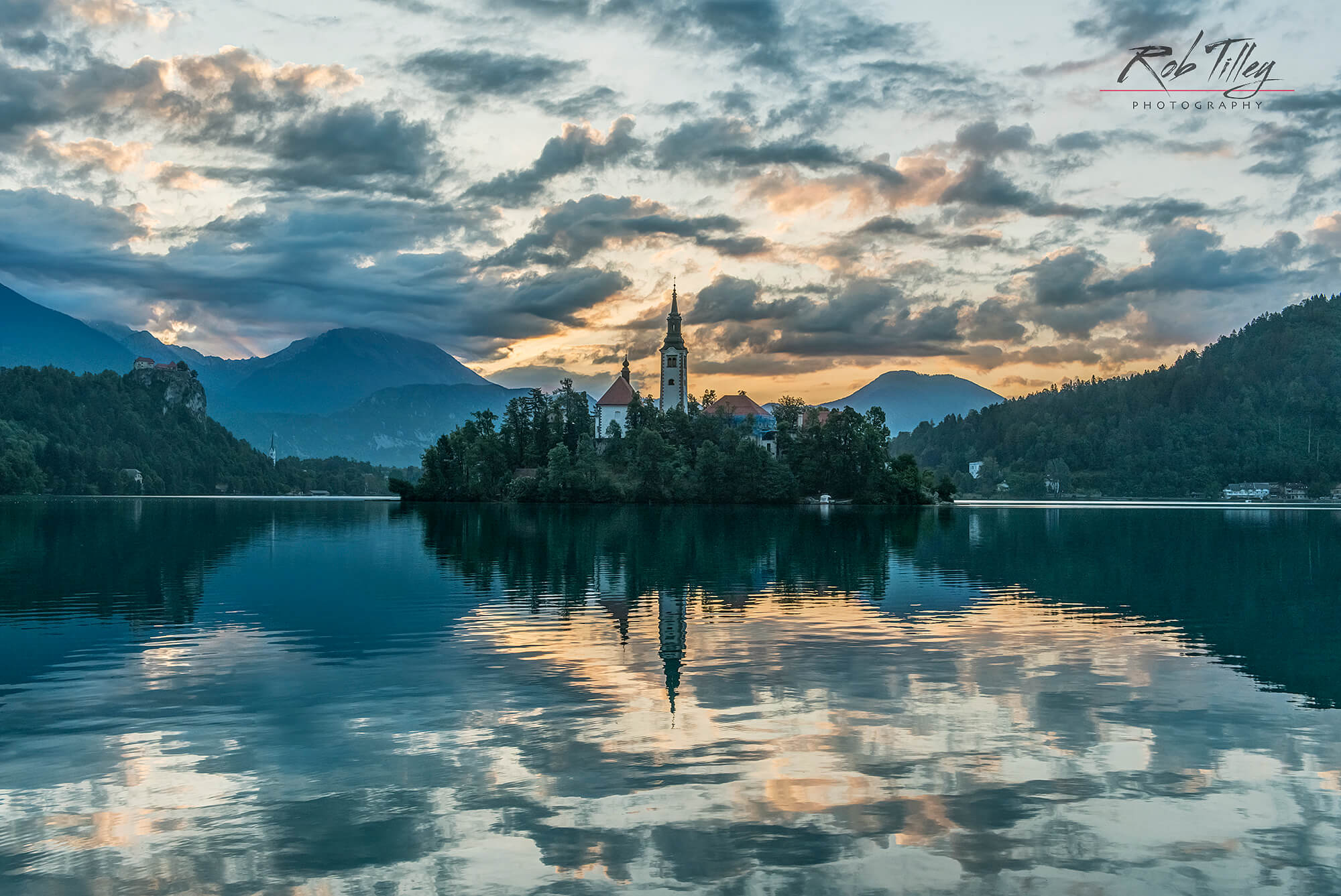 Lake Bled Dawn I