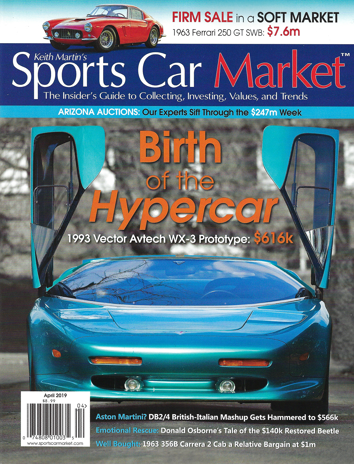 Sports Car Market - Excited to join Sports Car Market magazine as advertisers to impart our brand to the discerning collector market with our great new, hand made in Italy collection of finely crafted leather products for the automotive world! We offer a line of the finest travel/racing accessories on the planet bar none!