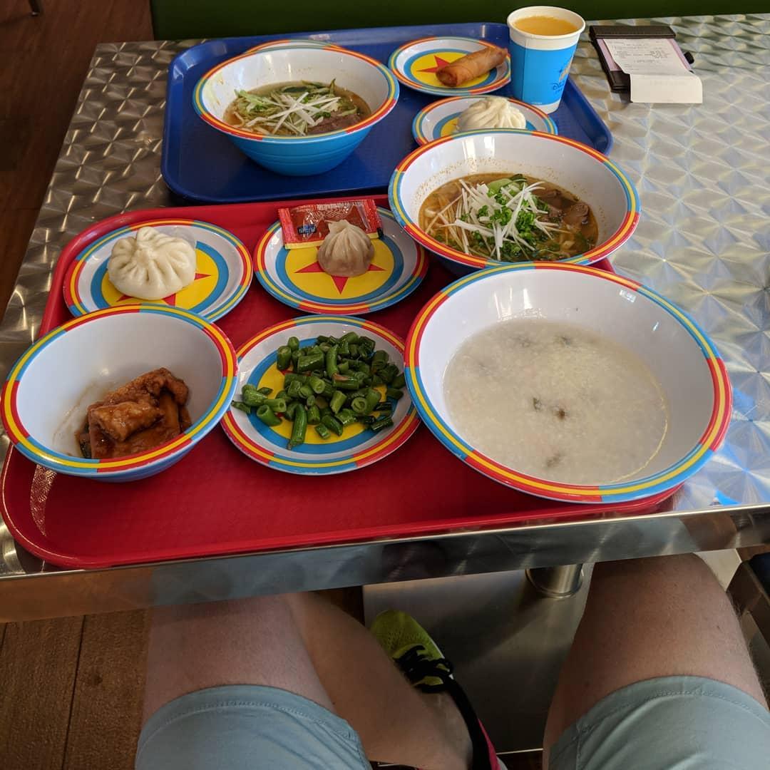 8. Breakfast congee -