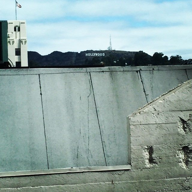 A view (to a kill) of the Hollywood sign