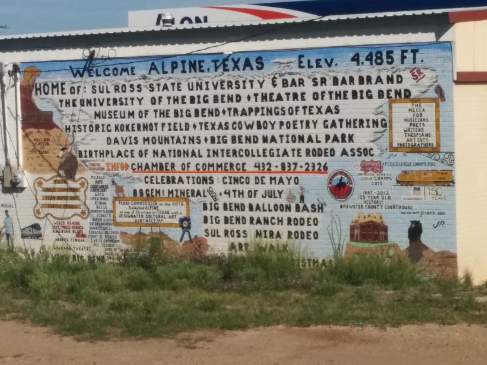 High altitude Texas.