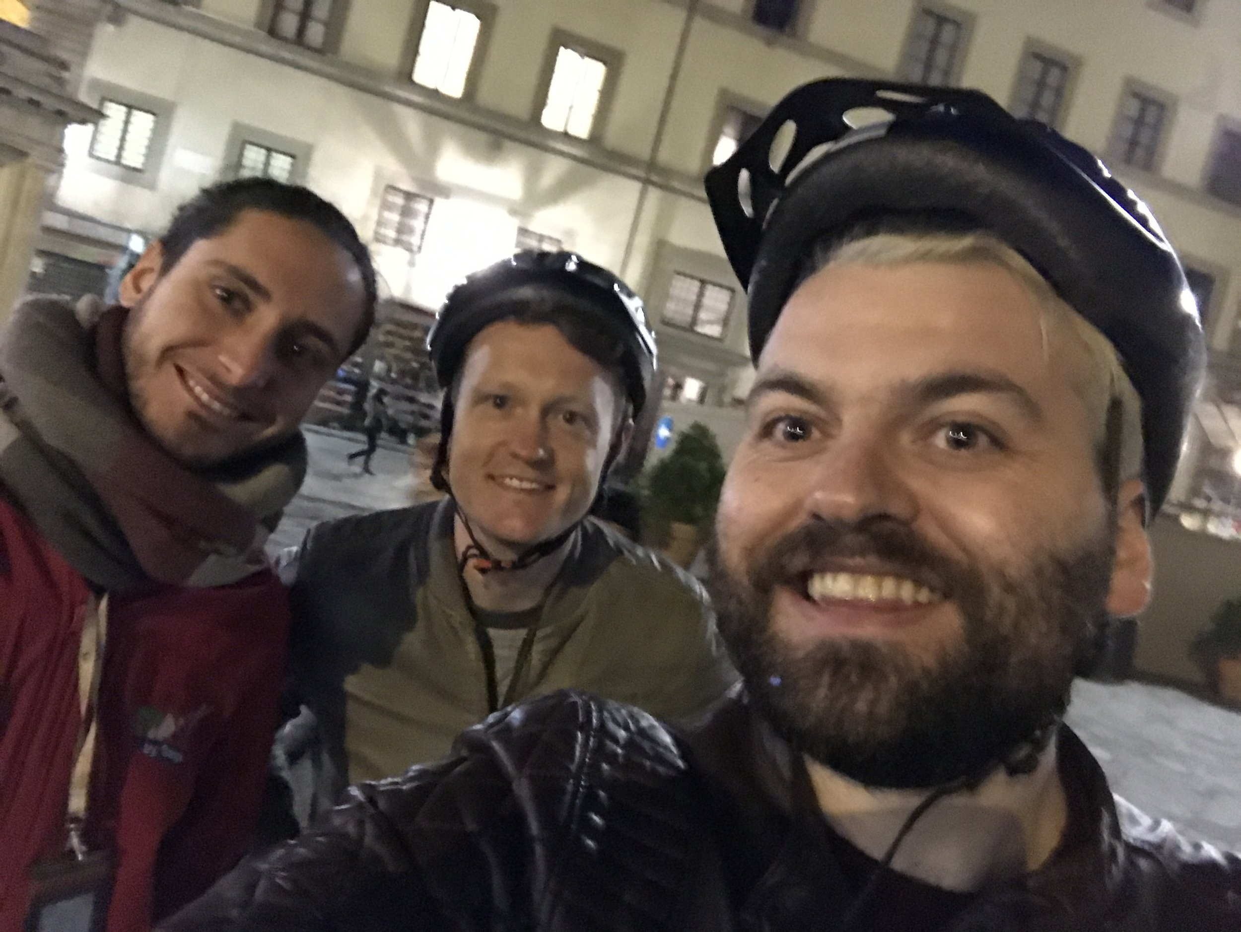 The Florence Segway tour was our first one we took at night