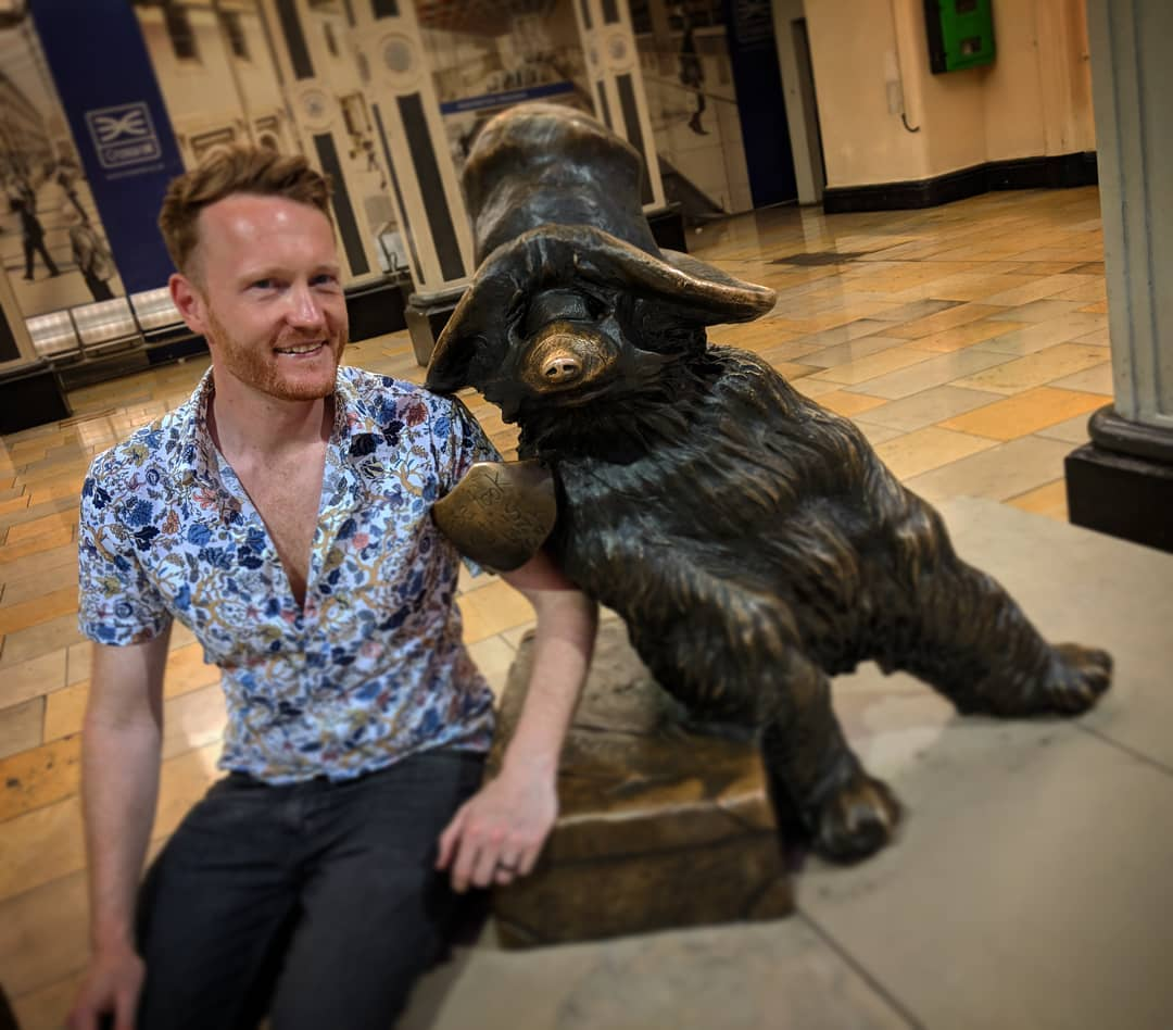 - Bucket list moment: meeting the bear from darkest Peru
