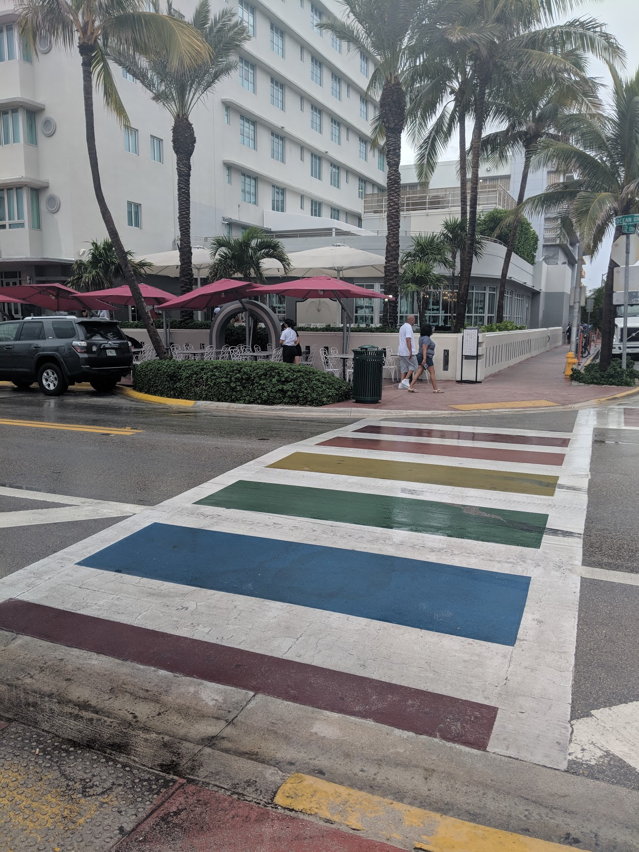 - Everywhere should have one: a rainbow crosswalk.