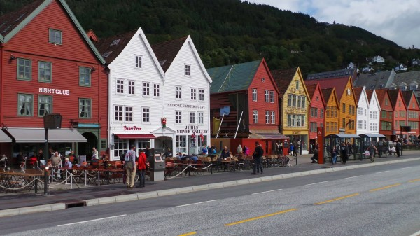 Bergen is famously colourful