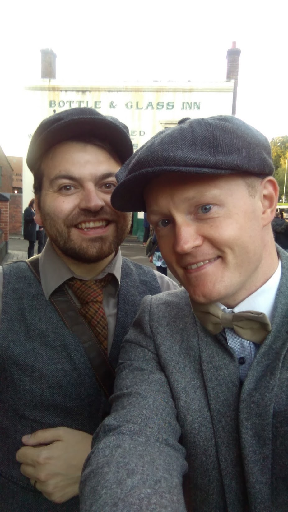Living out best Shelby life at the very first Peaky Blinders Night. The Museum run several each year and they always sell out quickly. Although dressing up is optional, most people do.