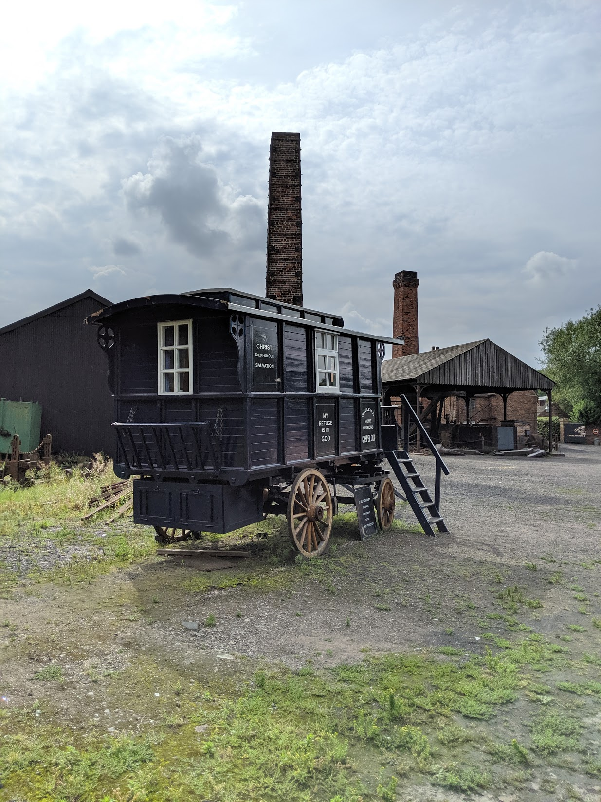 Fans of Peaky Blinders will recognise many locations from the show, including Anchor Forge shown here, where lots of unsavoury events have transpired across the series.