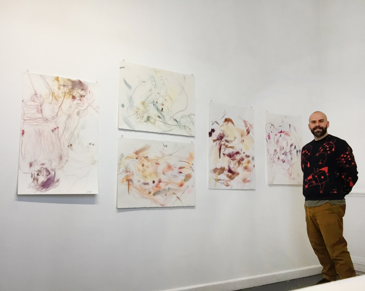 'Untitled Figures' 2018 Drawing Projects Gallery, Trowbridge, Wiltshire.