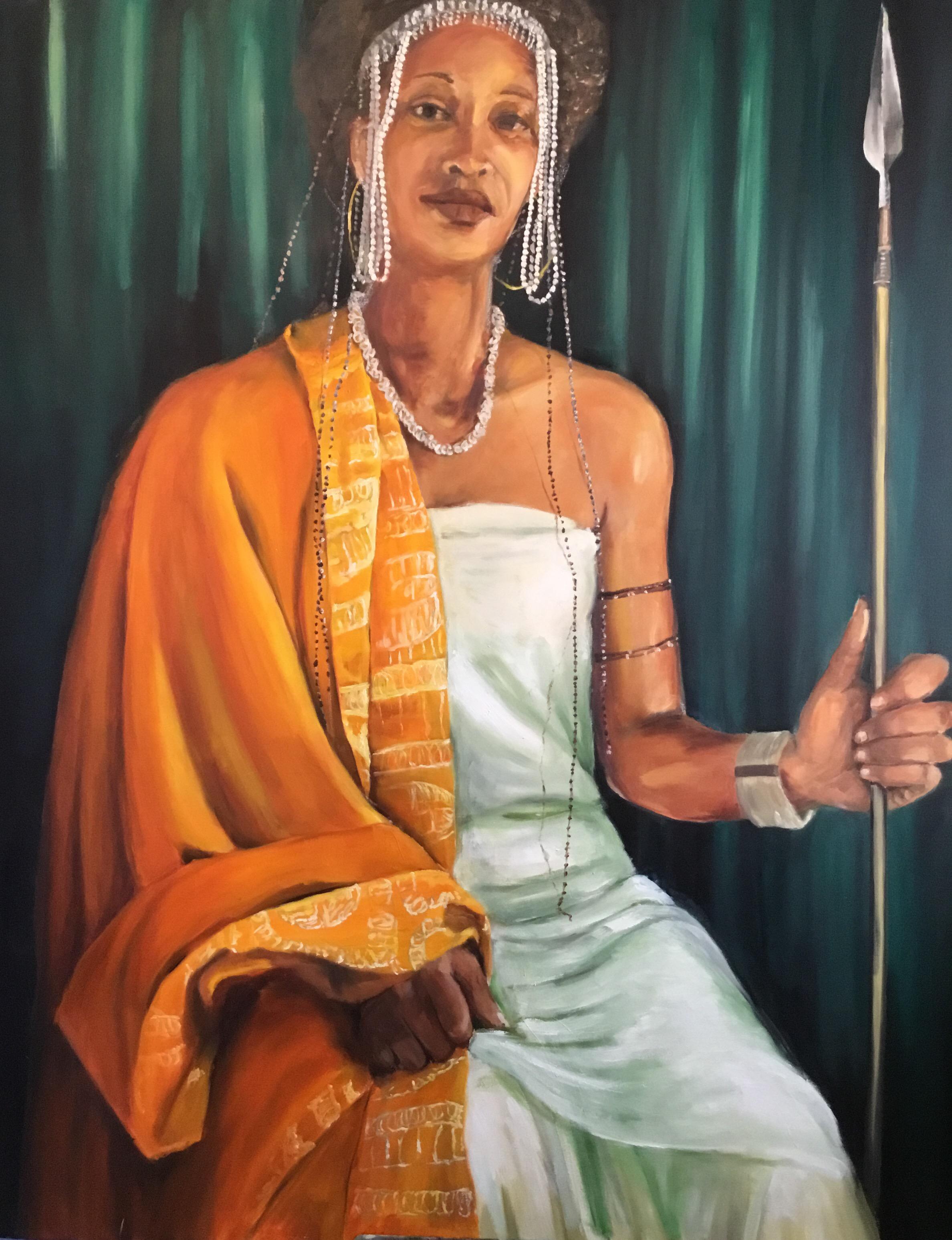 Dionna as Queen Amanirenas
