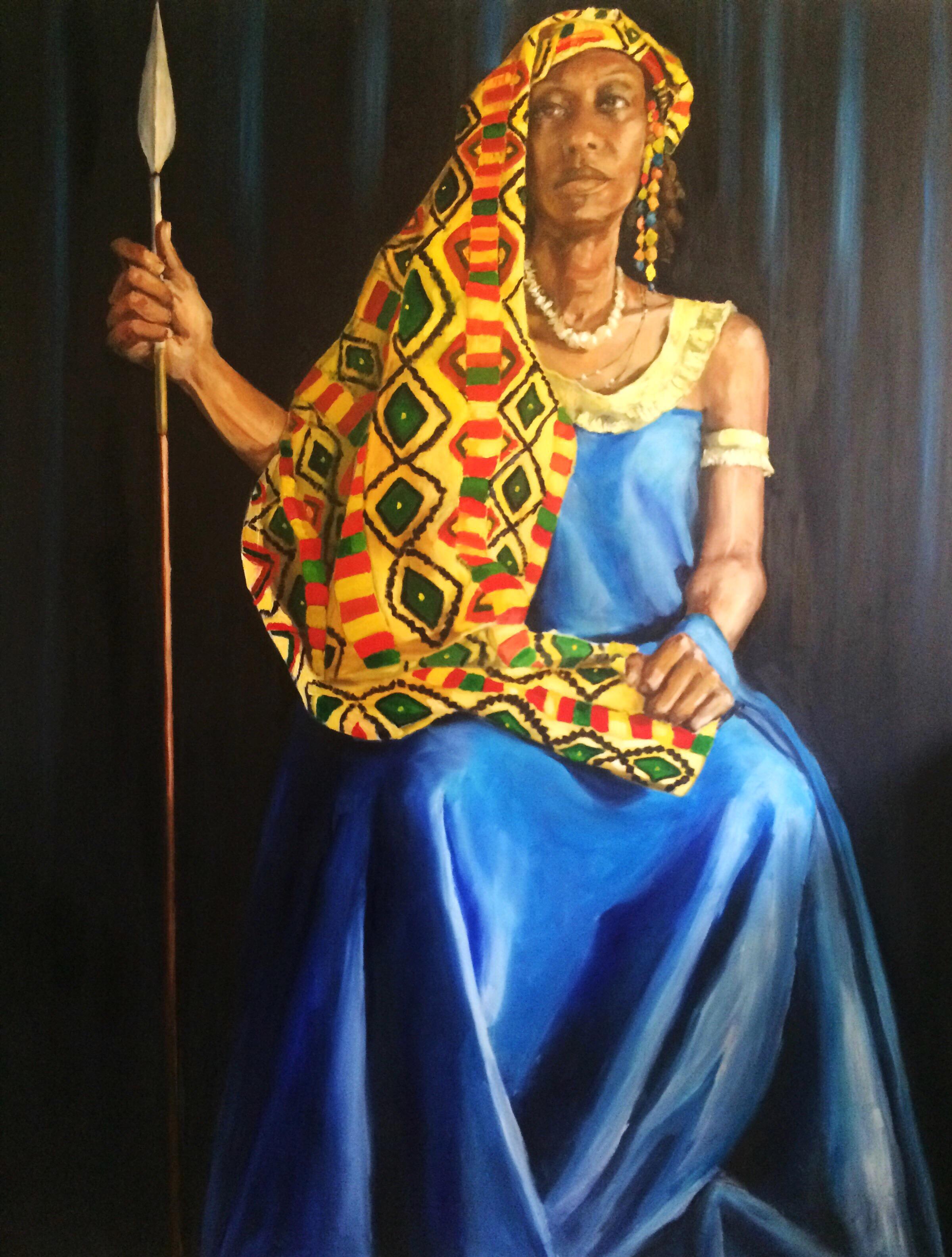 Shanna as Queen Yaa Asantewaa